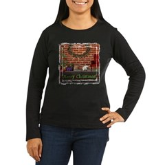 Christmas Morning Women's Long Sleeve Dark T-Shir