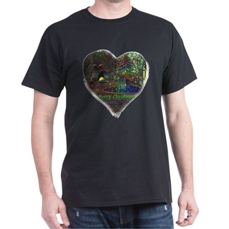 I Love Christmas Dark T-Shirt
