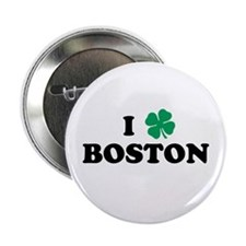 "Boston Clover 2.25"" Button"
