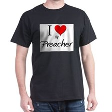 I Love My Preacher T-Shirt