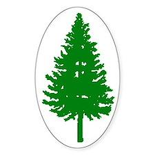 Oregon Douglas-fir Oval Decal