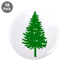 "Oregon Douglas-fir 3.5"" Button (10 pack)"