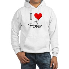 I Love My Poter Hooded Sweatshirt