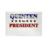 QUINTEN for president Rectangle Magnet (10 pack)