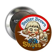 "Buster Brown Shoes #1 2.25"" Button (10 pack)"