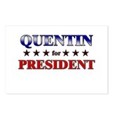 QUENTIN for president Postcards (Package of 8)
