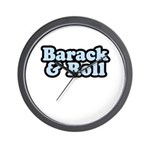 Barack & Roll Wall Clock