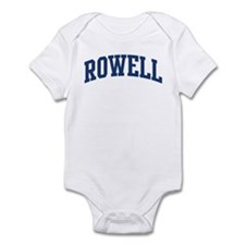 ROWELL design (blue) Infant Bodysuit