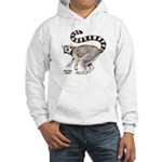 Ring-Tailed Lemur Hooded Sweatshirt