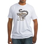 Ring-Tailed Lemur Fitted T-Shirt