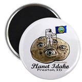 Planet Idaho Magnet