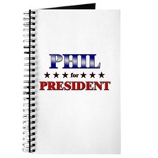 PHIL for president Journal