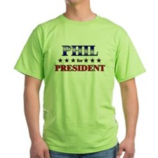 PHIL for president T-Shirt