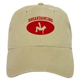 Breakdancing (red circle) Cap