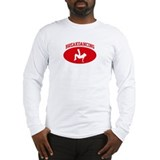 Breakdancing (red circle) Long Sleeve T-Shirt