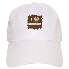 I Love Chocolate Baseball Cap