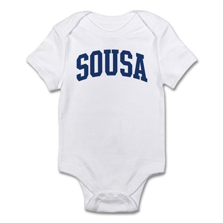 SOUSA design (blue) Infant Bodysuit