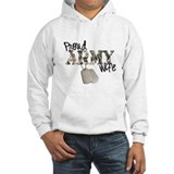 proud army wife Jumper Hoody