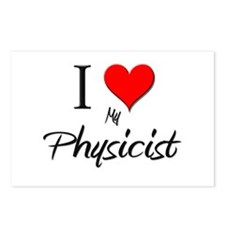 I Love My Physicist Postcards (Package of 8)
