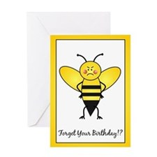 Birthday Bee Greeting Card