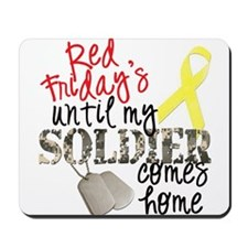 Red Fridays until my SOLDIER Mousepad