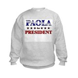 PAOLA for president Jumpers