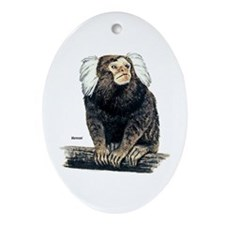 Marmoset Monkey Keepsake (Oval)