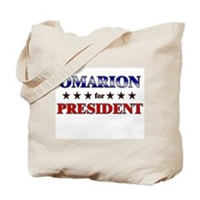 OMARION for president Tote Bag