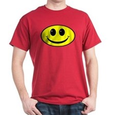 Smiley Face Oval T-Shirt