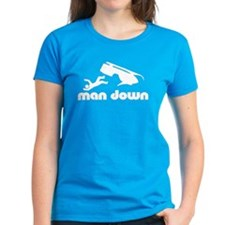 man down snowmobile Tee