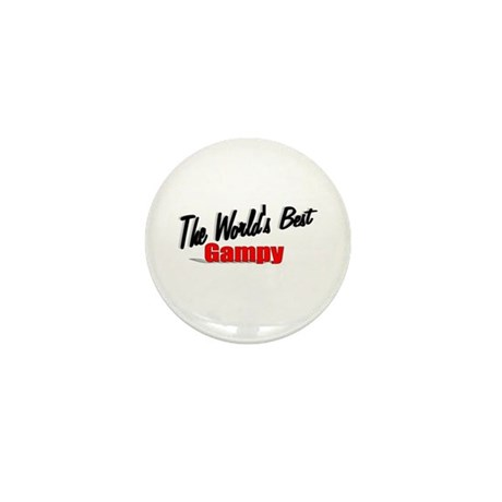 """The World's Best Gampy"" Mini Button"
