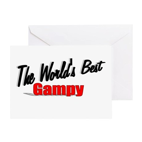 """The World's Best Gampy"" Greeting Card"