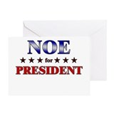 NOE for president Greeting Card