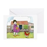 On The Farm Greeting Cards (Pk of 20)