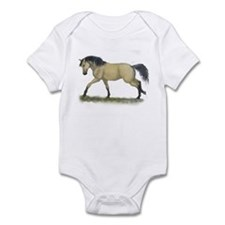 Buckskin Loping Infant Bodysuit
