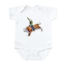 Bull Rider Infant Bodysuit