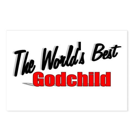 """The World's Best Godchild"" Postcards (Package of"