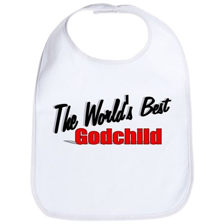 """The World's Best Godchild"" Bib"
