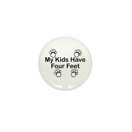 Kids-4 Feet Mini Button