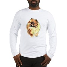 Pomeranian #1 Long Sleeve T-Shirt