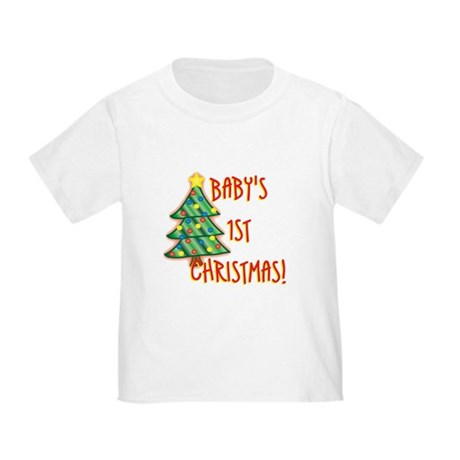 Baby's 1st Christmas Toddler T-Shirt