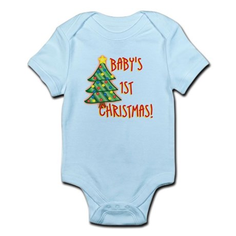Baby's 1st Christmas Infant Bodysuit