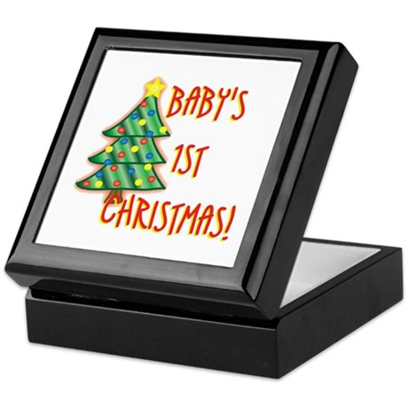 Baby's 1st Christmas Keepsake Box