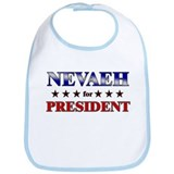 NEVAEH for president Bib