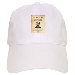 "Wanted ""King"" Fisher Cap"
