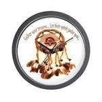 Gather Your Dreams Wall Clock