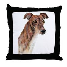 Greyhound #1 Throw Pillow