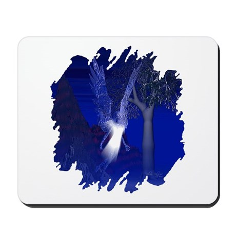 Iridescent Angel Mousepad