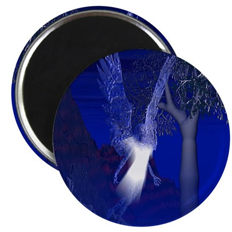 Iridescent Angel Magnet