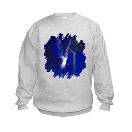 Iridescent Angel Kids Sweatshirt